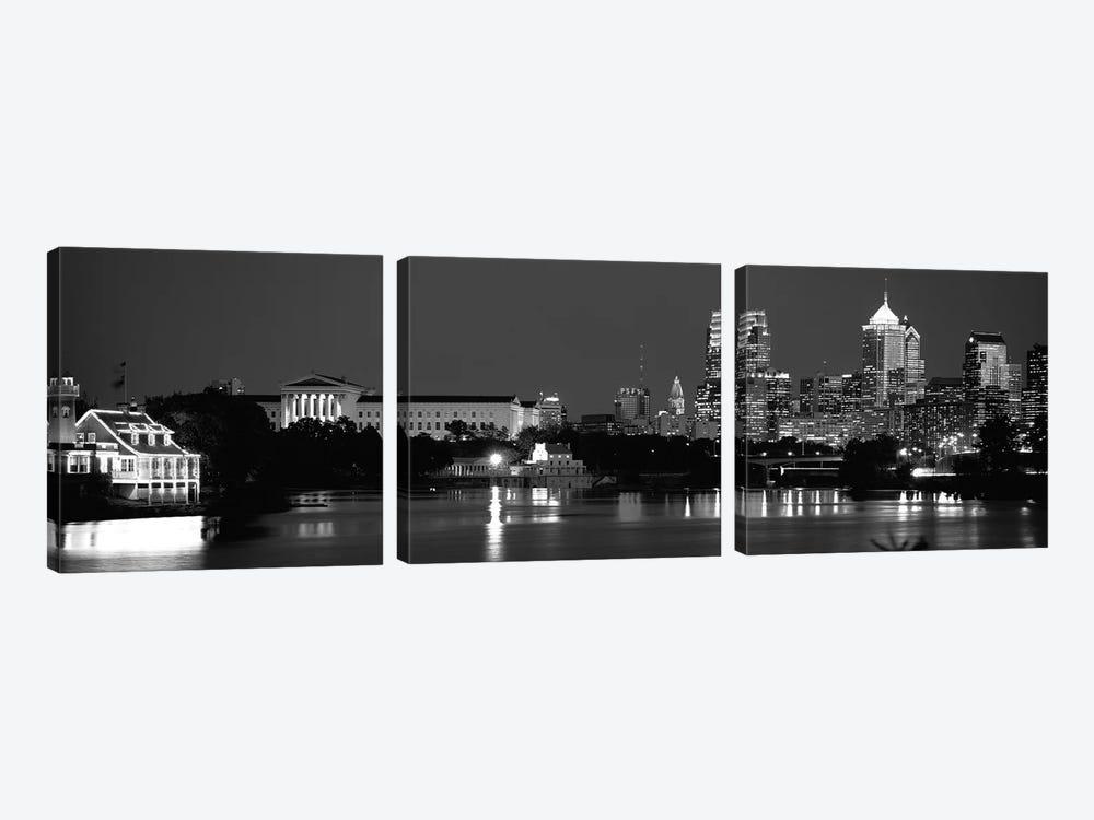 Philadelphia, Pennsylvania, USA by Panoramic Images 3-piece Canvas Artwork