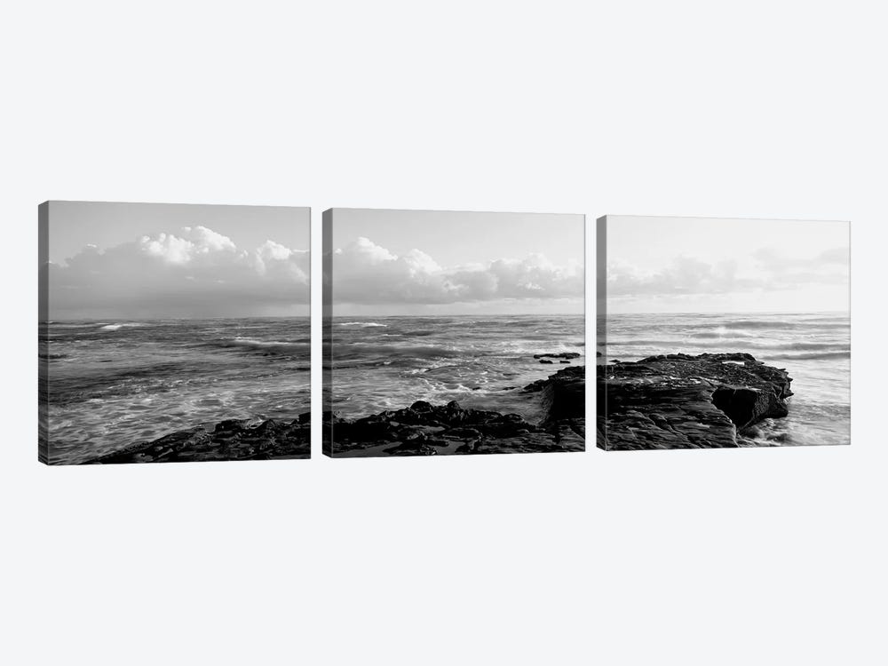 Promontory La Jolla, CA by Panoramic Images 3-piece Canvas Artwork