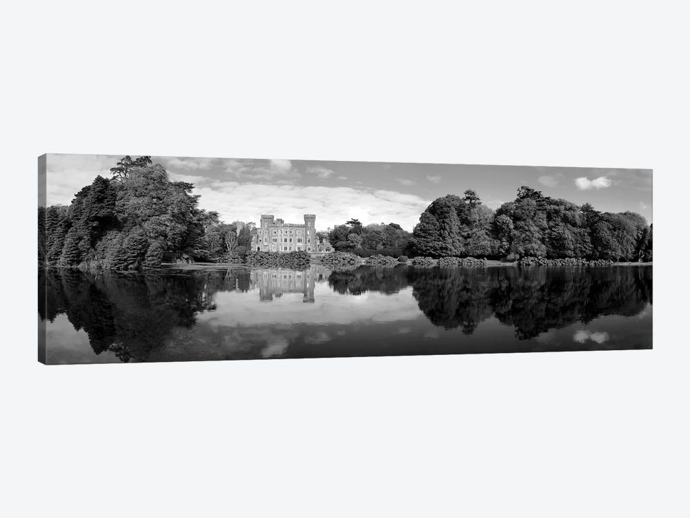 Reflection Of A Castle In Water, Johnstown Castle, County Wexford, Republic Of Ireland by Panoramic Images 1-piece Art Print