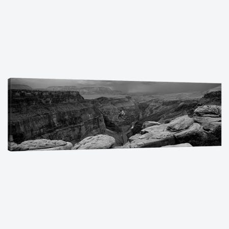 River Passing Through A Canyon, Toroweap Overlook, North Rim, Grand Canyon National Park, Arizona, USA I Canvas Print #PIM15209} by Panoramic Images Canvas Artwork
