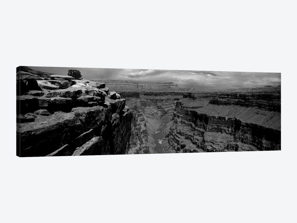 River Passing Through A Canyon, Toroweap Overlook, North Rim, Grand Canyon National Park, Arizona, USA II by Panoramic Images 1-piece Canvas Artwork