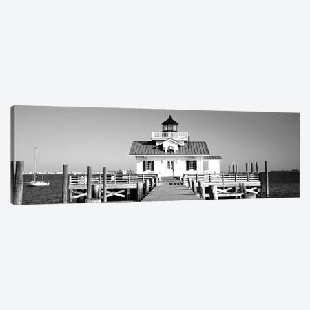 Roanoke Marshes Lighthouse, Outer Banks, North Carolina, USA Canvas Print #PIM15213} by Panoramic Images Canvas Art Print