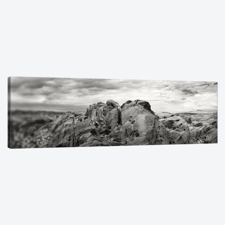 Rock Formations In The Valley Of Fire State Park, Moapa Valley, Nevada, USA Canvas Print #PIM15214} by Panoramic Images Canvas Artwork
