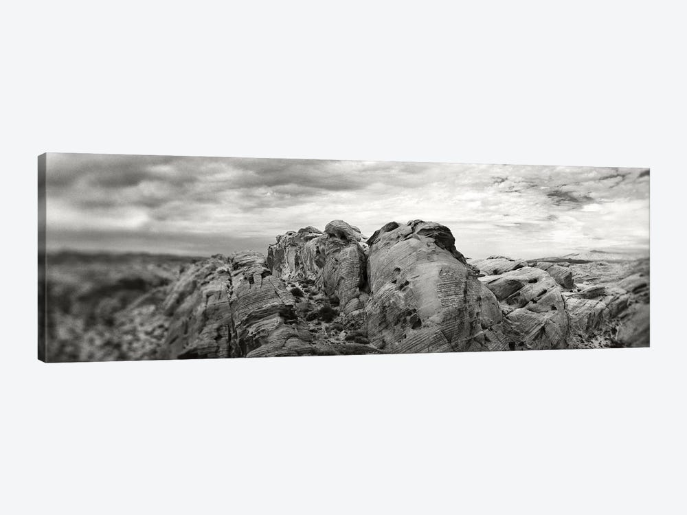 Rock Formations In The Valley Of Fire State Park, Moapa Valley, Nevada, USA by Panoramic Images 1-piece Canvas Wall Art