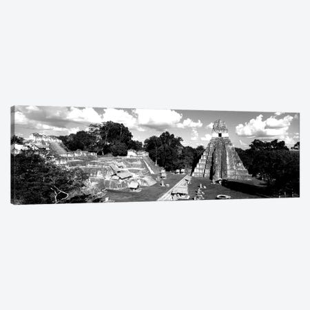 Ruins Of An Old Temple, Tikal, Guatemala Canvas Print #PIM15218} by Panoramic Images Art Print