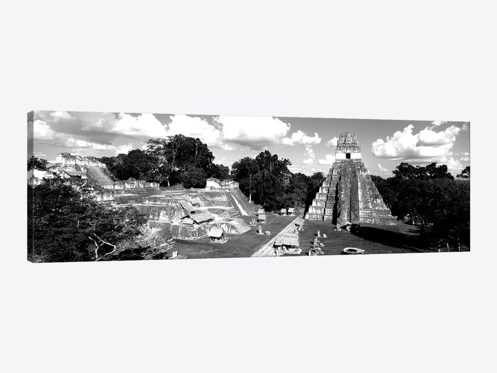 Ruins Of An Old Temple, Tikal, Guatemala by Panoramic Images 1-piece Canvas Wall Art