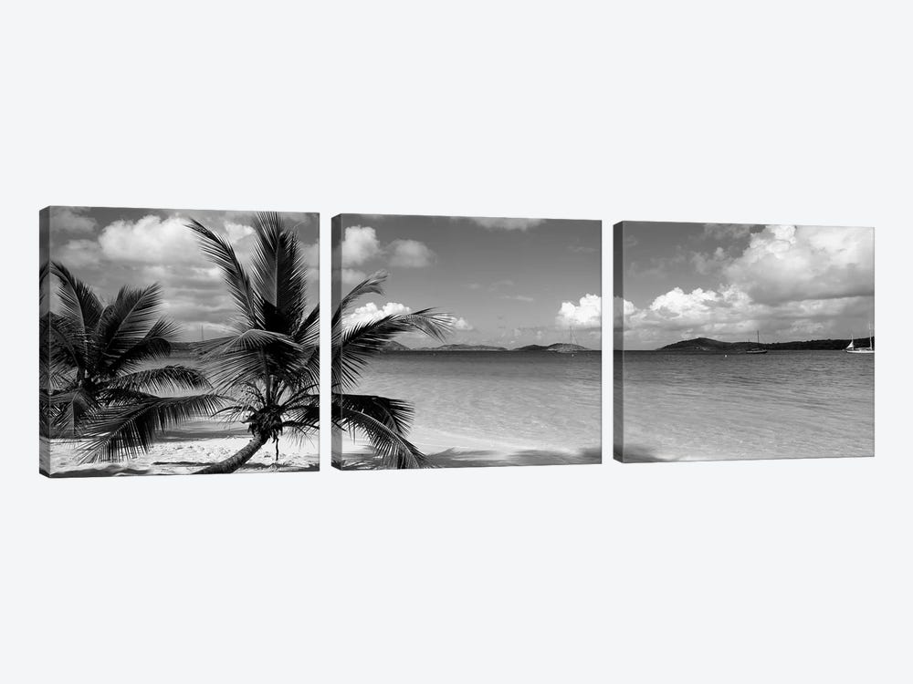 Salomon Beach Us Virgin Islands by Panoramic Images 3-piece Art Print