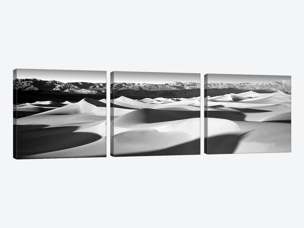 Sand Dunes In A Desert, Death Valley National Park, California, USA by Panoramic Images 3-piece Art Print
