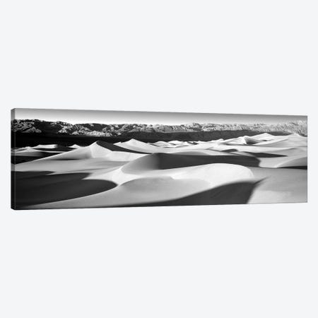 Sand Dunes In A Desert, Death Valley National Park, California, USA 3-Piece Canvas #PIM15220} by Panoramic Images Canvas Wall Art