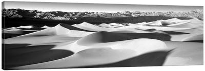 Sand Dunes In A Desert, Death Valley National Park, California, USA Canvas Art Print