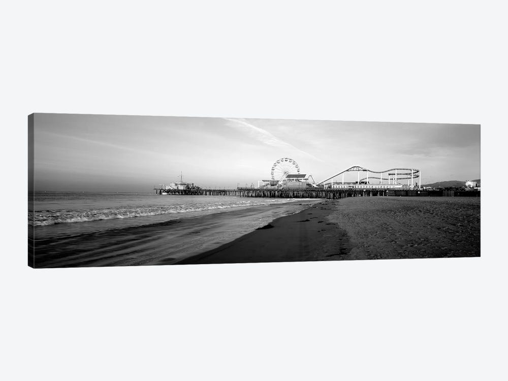 Santa Monica Pier, California, USA 1-piece Canvas Art Print