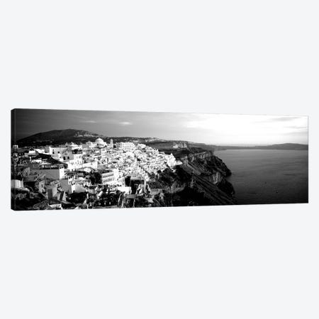Santorini, Greece 3-Piece Canvas #PIM15223} by Panoramic Images Canvas Wall Art