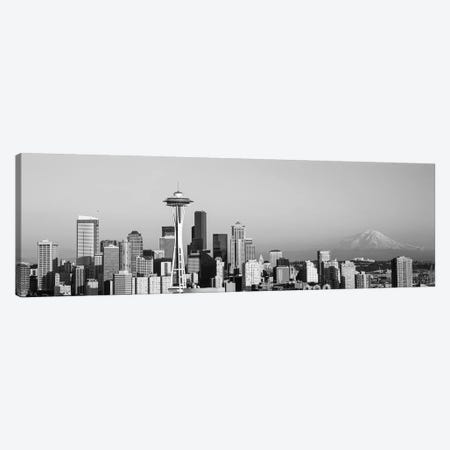 Skyline, Seattle, Washington State, USA Canvas Print #PIM15228} by Panoramic Images Canvas Wall Art