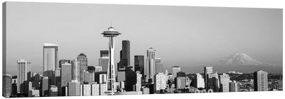 Skyline, Seattle, Washington State, USA Canvas Art Print