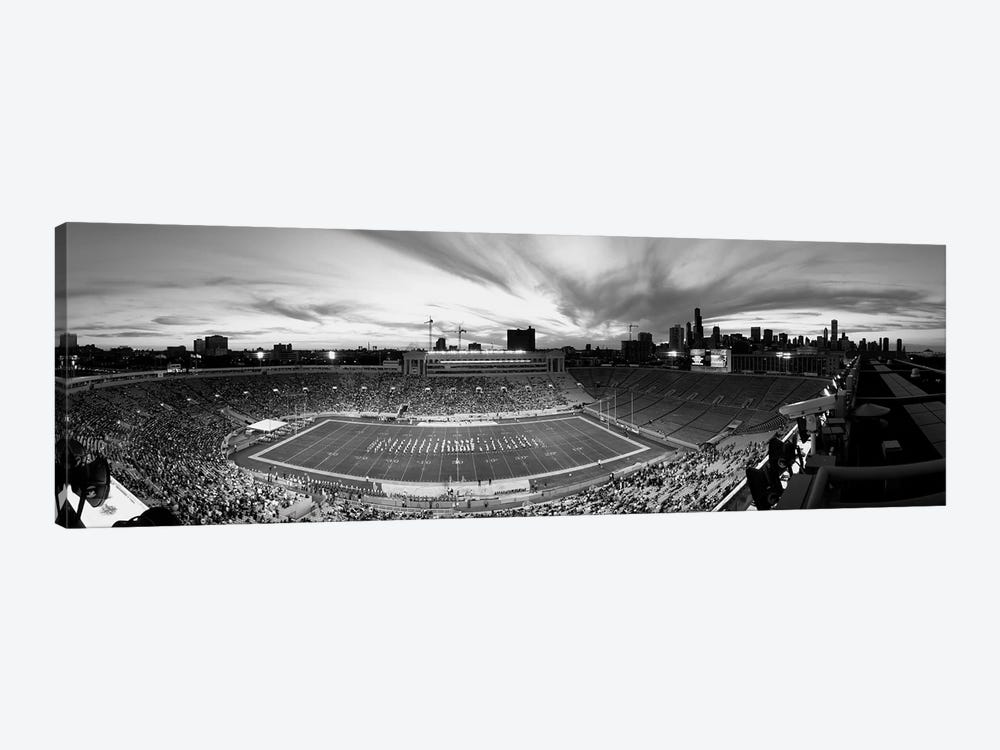 Soldier Field Football Stadium, Chicago, Illinois, USA by Panoramic Images 1-piece Canvas Art