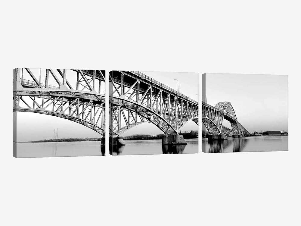 South Grand Island Bridges New York USA by Panoramic Images 3-piece Art Print