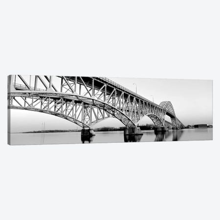 South Grand Island Bridges New York USA 3-Piece Canvas #PIM15235} by Panoramic Images Canvas Art