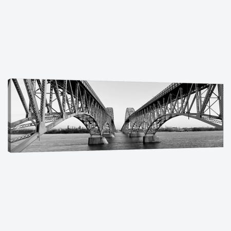 South Grand Island Bridges, New York State, USA Canvas Print #PIM15236} by Panoramic Images Canvas Wall Art