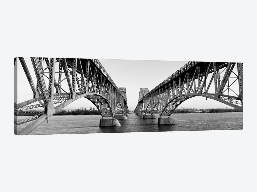 South Grand Island Bridges, New York State, USA by Panoramic Images 1-piece Canvas Artwork