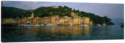 Shoreline Architecture, Portofino, Liguria, Italy Canvas Print #PIM1523