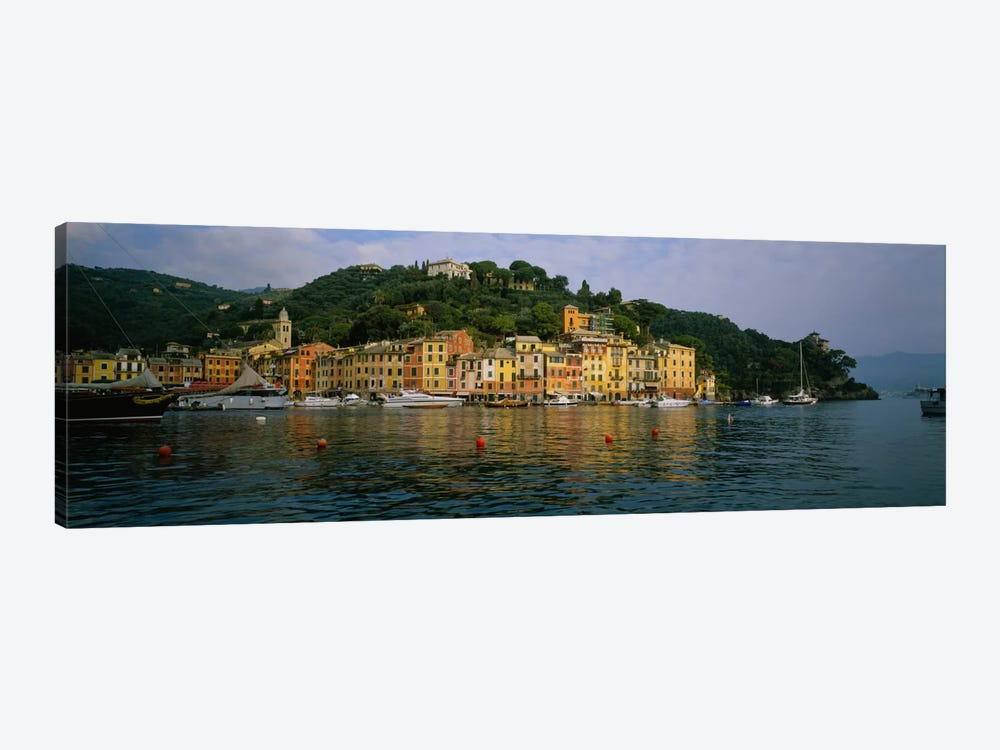 Shoreline Architecture, Portofino, Liguria, Italy by Panoramic Images 1-piece Art Print