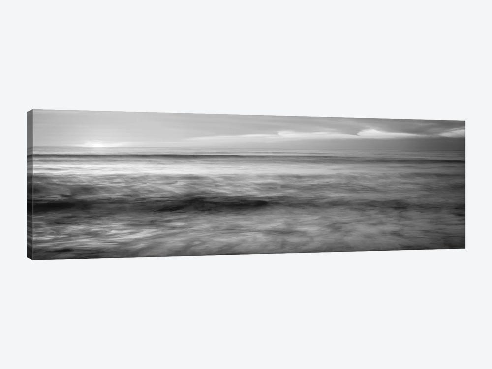 Sunset Over An Ocean, Pacific Ocean, La Jolla, California, USA by Panoramic Images 1-piece Canvas Wall Art