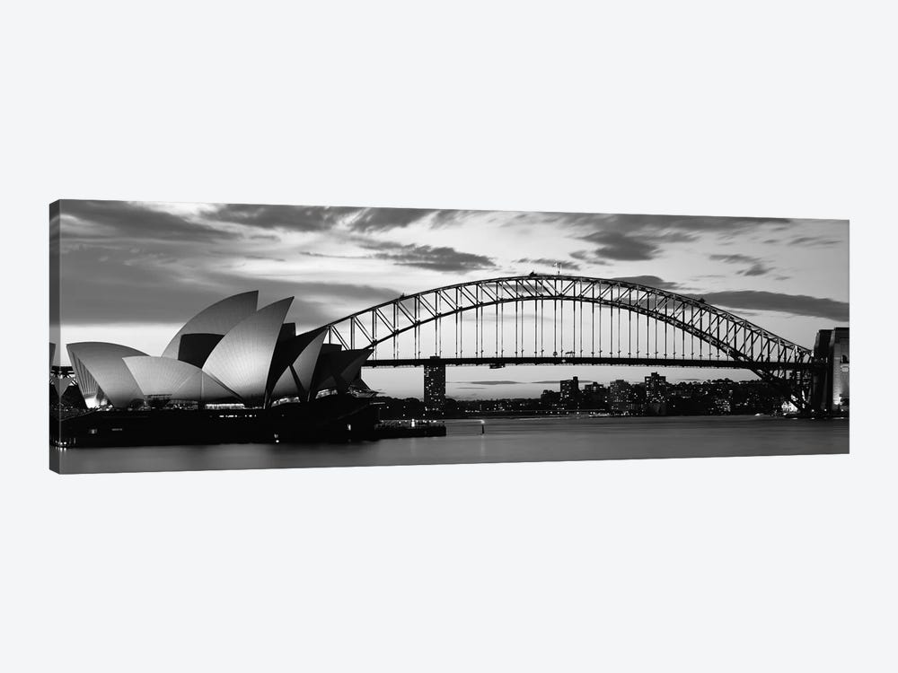 Sydney Harbour Bridge At Sunset, Sydney, Australia by Panoramic Images 1-piece Canvas Art Print