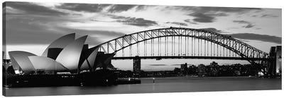 Sydney Harbour Bridge At Sunset, Sydney, Australia Canvas Art Print