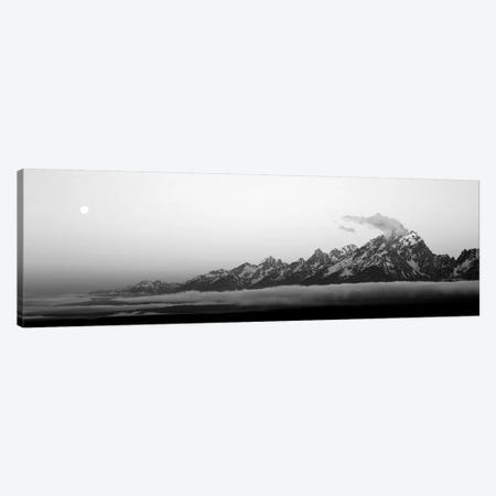 Teton Range Grand Teton National Park WY USA Canvas Print #PIM15252} by Panoramic Images Canvas Art Print
