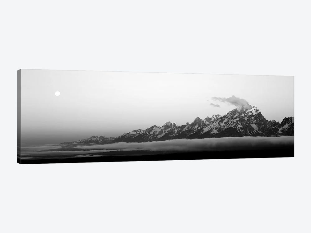 Teton Range Grand Teton National Park WY USA by Panoramic Images 1-piece Canvas Wall Art