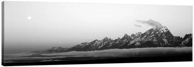 Teton Range Grand Teton National Park WY USA Canvas Art Print
