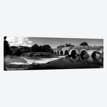 Thirteen Arch Bridge Over The River Funshion, Glanworth, County Cork, Republic Of Ireland Canvas Print #PIM15256} by Panoramic Images Canvas Art