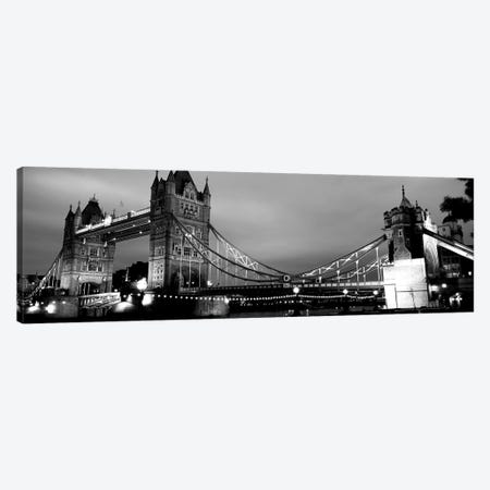 Tower Bridge, London, United Kingdom Canvas Print #PIM15257} by Panoramic Images Canvas Art