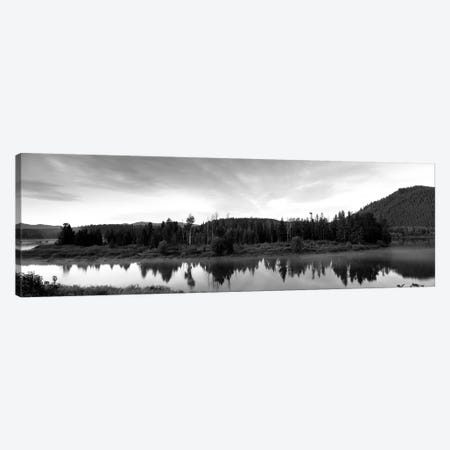 USA, Wyoming, Grand Teton Park, Ox Bow Bend Canvas Print #PIM15260} by Panoramic Images Canvas Art