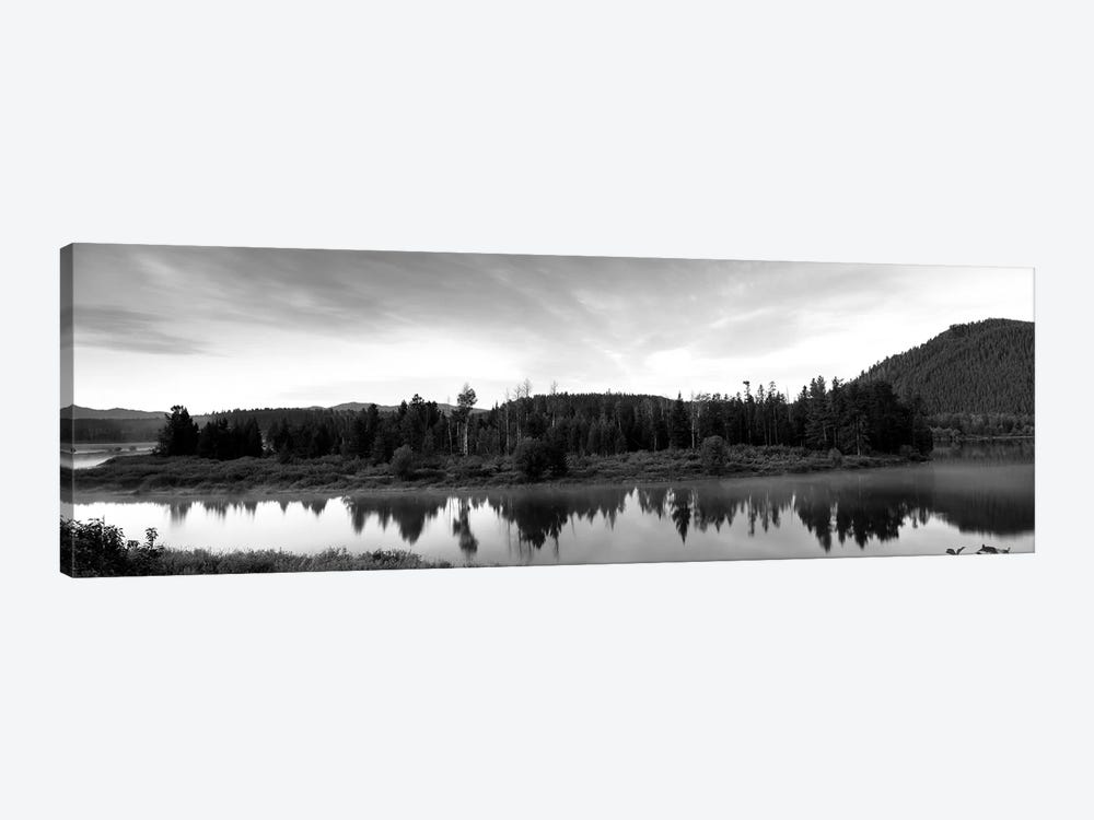 USA, Wyoming, Grand Teton Park, Ox Bow Bend by Panoramic Images 1-piece Canvas Print