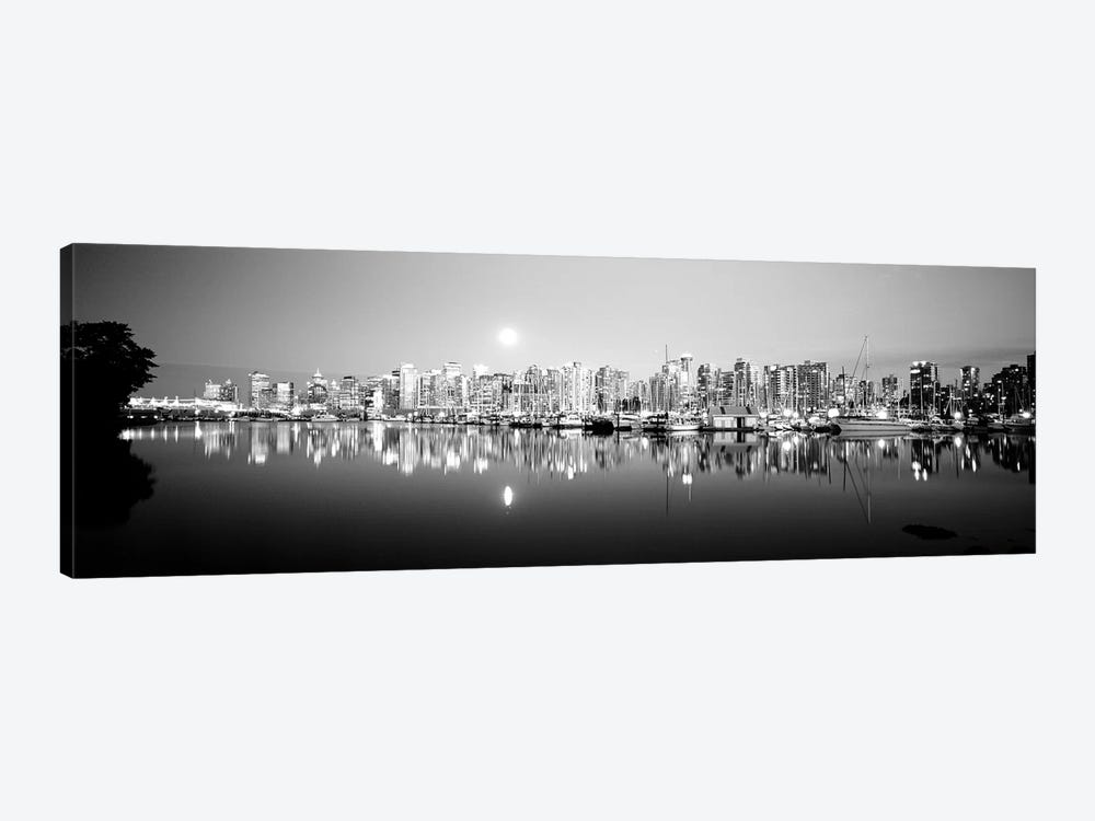 Vancouver Skyline, British Columbia, Canada by Panoramic Images 1-piece Canvas Wall Art