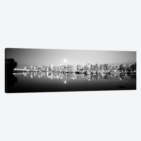 Vancouver Skyline, British Columbia, Canada Canvas Print #PIM15261} by Panoramic Images Canvas Wall Art