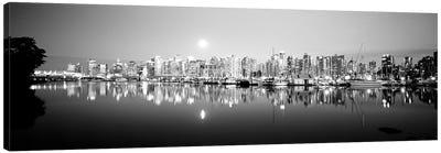 Vancouver Skyline, British Columbia, Canada Canvas Art Print