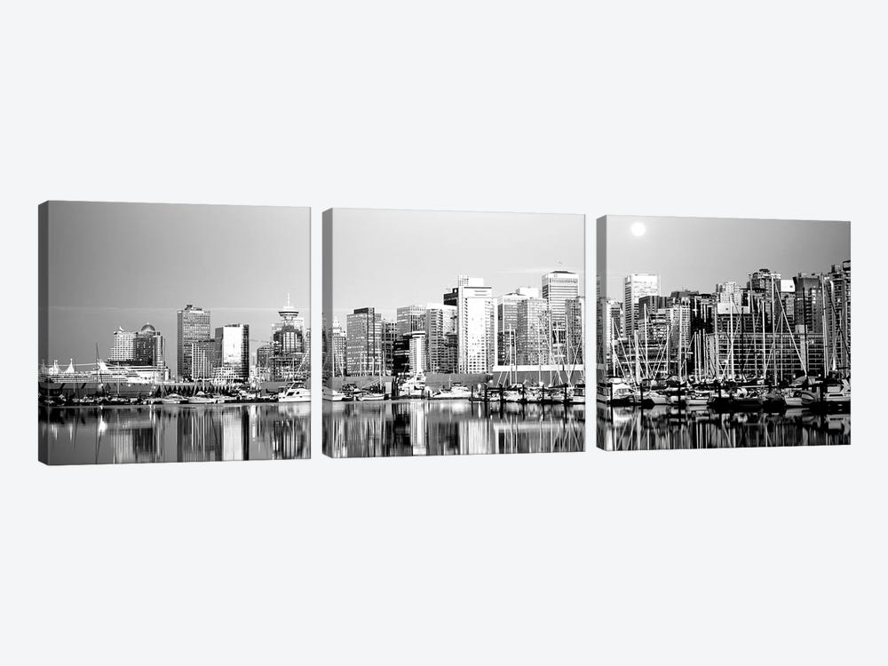 Vancouver, British Columbia, Canada by Panoramic Images 3-piece Art Print