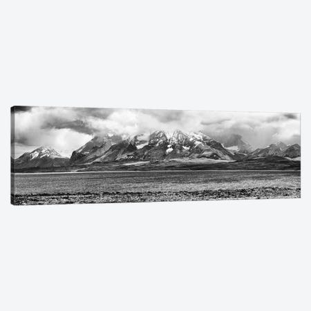 View Of The Sarmiento Lake In Torres Del Paine National Park, Patagonia, Chile Canvas Print #PIM15265} by Panoramic Images Canvas Print