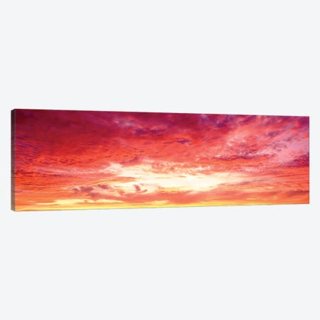 Brazil, Atlantic, Sunset Canvas Print #PIM15272} by Panoramic Images Canvas Print