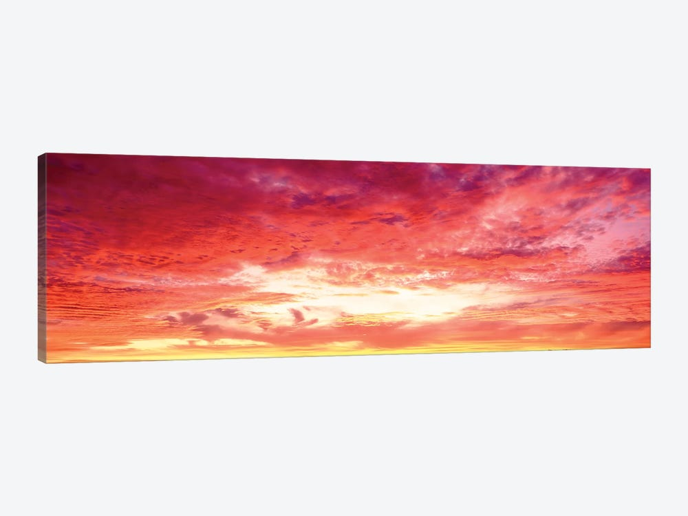 Brazil, Atlantic, Sunset by Panoramic Images 1-piece Canvas Wall Art