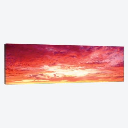 Brazil, Atlantic, Sunset Canvas Print #PIM15272} by Panoramic Images Canvas Print