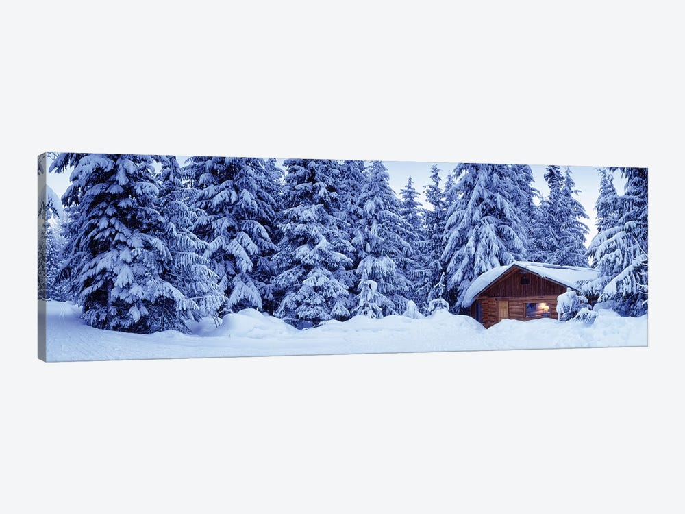 Lost Lake Cabin, British Columbia, Canada by Panoramic Images 1-piece Canvas Print