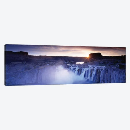 Shoshone Falls, Snake River, ID, USA Canvas Print #PIM15276} by Panoramic Images Canvas Wall Art