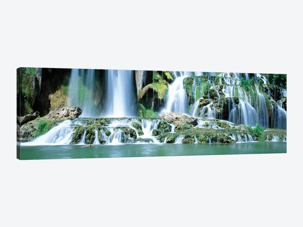 Snake River Waterfall Bonneville County ID USA by Panoramic Images 1-piece Canvas Wall Art