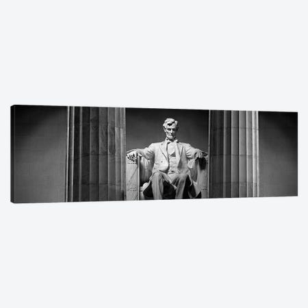 Lincoln Memorial, Washington DC, USA Canvas Print #PIM15305} by Panoramic Images Canvas Wall Art