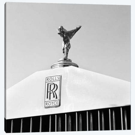 1960s Close-Up Rolls Royce Hood Or Bonnet Ornament Spirit Of Ecstasy 3-Piece Canvas #PIM15317} by Panoramic Images Canvas Print