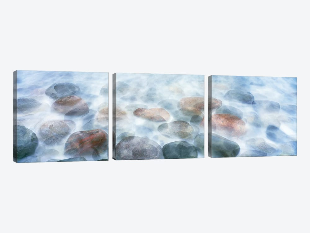 Rocks Underwater, Calumet Beach, La Jolla, San Diego, CA, USA by Panoramic Images 3-piece Canvas Art