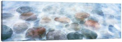 Rocks Underwater, Calumet Beach, La Jolla, San Diego, CA, USA Canvas Art Print